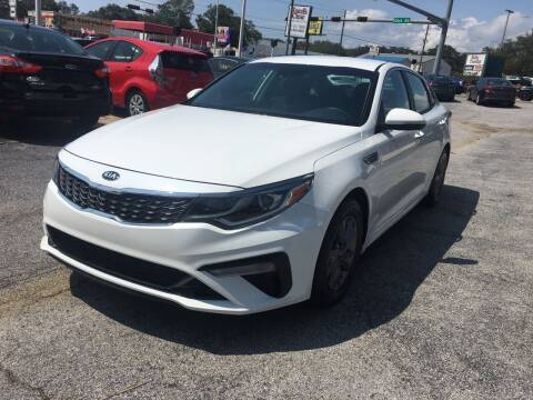 2019 Kia Optima for sale at Beach Cars in Fort Walton Beach FL