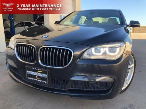 2013 BMW 7 Series for sale at European Motors Inc in Plano TX