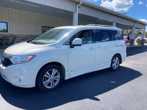 2015 Nissan Quest for sale at McCully's Automotive - Trucks & SUV's in Benton KY