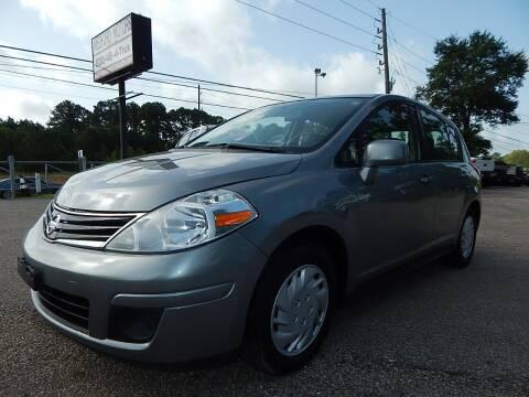 2012 Nissan Versa for sale at Medford Motors Inc. in Magnolia TX