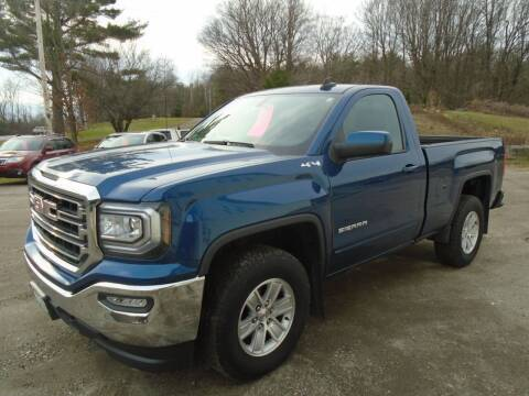 2017 GMC Sierra 1500 for sale at Wimett Trading Company in Leicester VT