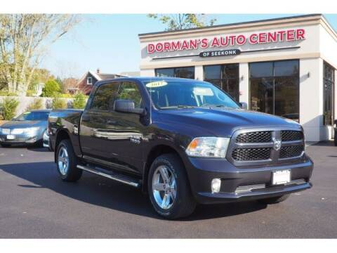 2017 RAM Ram Pickup 1500 for sale at DORMANS AUTO CENTER OF SEEKONK in Seekonk MA