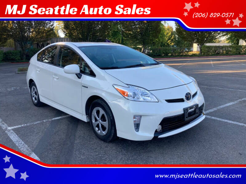 2015 Toyota Prius for sale at MJ Seattle Auto Sales in Kent WA