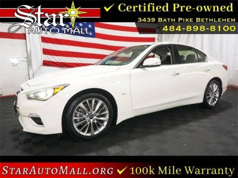 2018 Infiniti Q50 for sale at STAR AUTO MALL 512 in Bethlehem PA