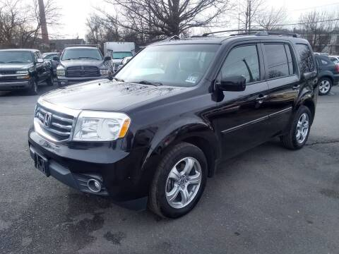 2012 Honda Pilot for sale at Wilson Investments LLC in Ewing NJ