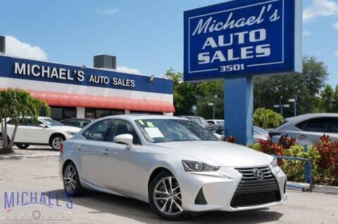 2018 Lexus IS 300 for sale at Michael's Auto Sales Corp in Hollywood FL