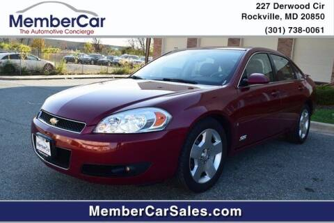 2007 Chevrolet Impala for sale at MemberCar in Rockville MD
