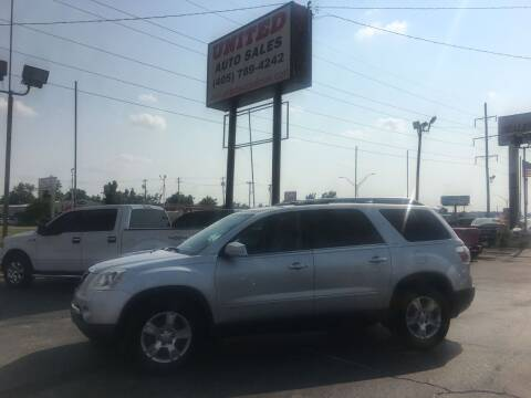 2009 GMC Acadia for sale at United Auto Sales in Oklahoma City OK