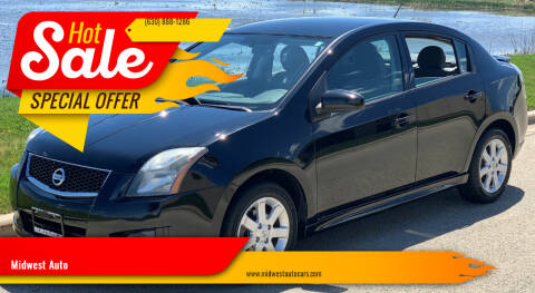 2011 Nissan Sentra for sale at Midwest Auto in Naperville IL