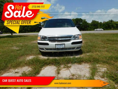 2004 Chevrolet Venture for sale at CAR QUEST AUTO SALES in Houston TX