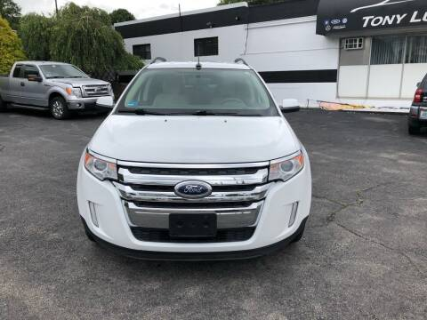 2014 Ford Edge for sale at Tony Luis Auto Sales & SVC in Cumberland RI
