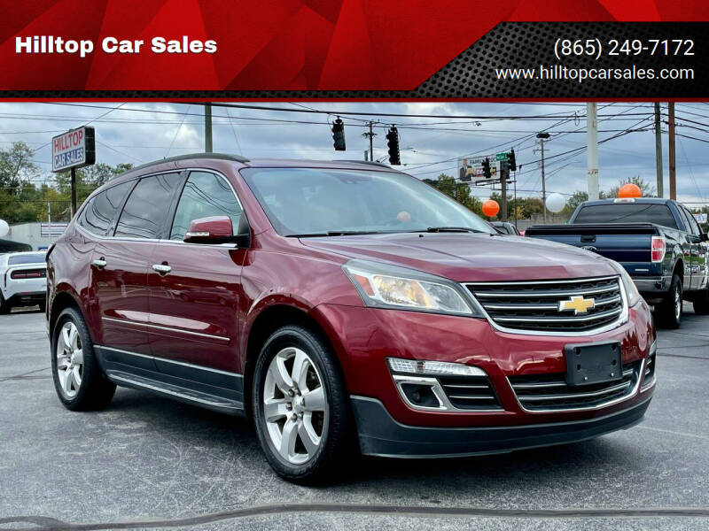 2017 Chevrolet Traverse for sale at Hilltop Car Sales in Knoxville TN