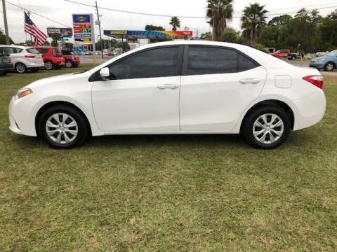 2015 Toyota Corolla for sale at Unique Motor Sport Sales in Kissimmee FL