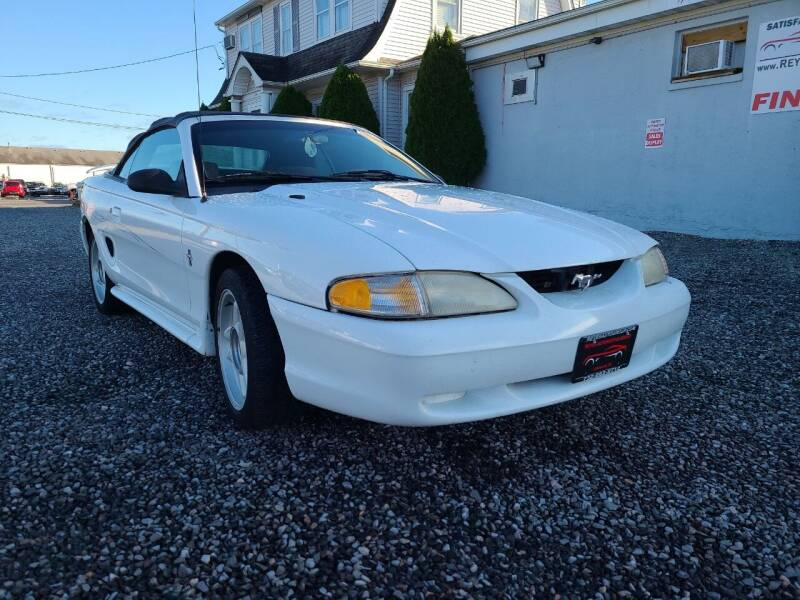 1995 Ford Mustang for sale at Reyes Automotive Group in Lakewood NJ