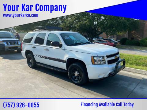 2014 Chevrolet Tahoe for sale at Your Kar Company in Norfolk VA