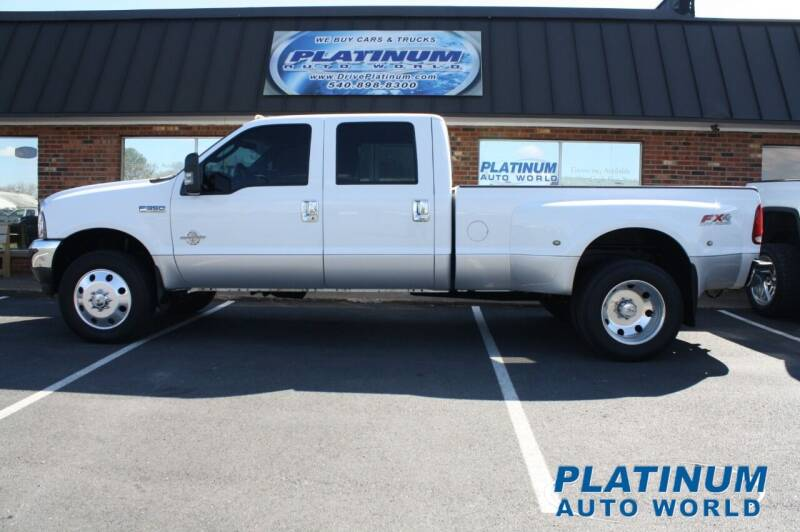 2003 Ford F-350 Super Duty for sale at Platinum Auto World in Fredericksburg VA