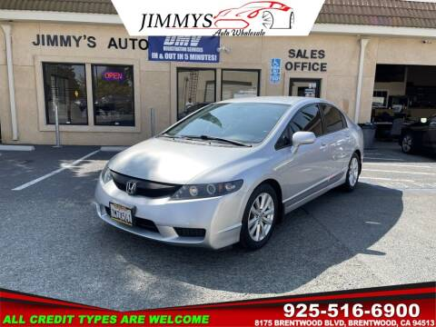 2009 Honda Civic for sale at JIMMY'S AUTO WHOLESALE in Brentwood CA