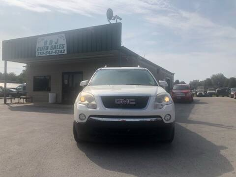 2008 GMC Acadia for sale at B & J Auto Sales in Auburn KY