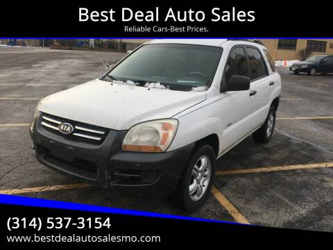 2008 Kia Sportage for sale at Best Deal Auto Sales in Saint Charles MO