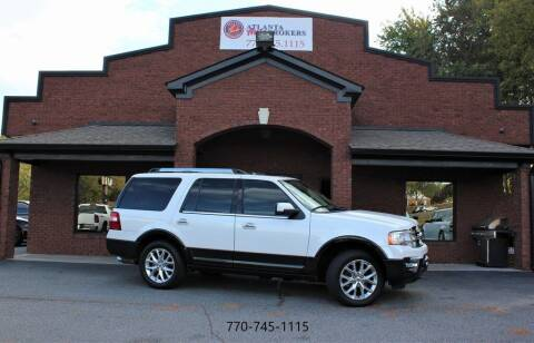 2015 Ford Expedition for sale at Atlanta Auto Brokers in Cartersville GA