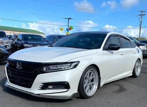 2018 Honda Accord for sale at PONO'S USED CARS in Hilo HI