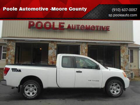 2014 Nissan Titan for sale at Poole Automotive in Laurinburg NC
