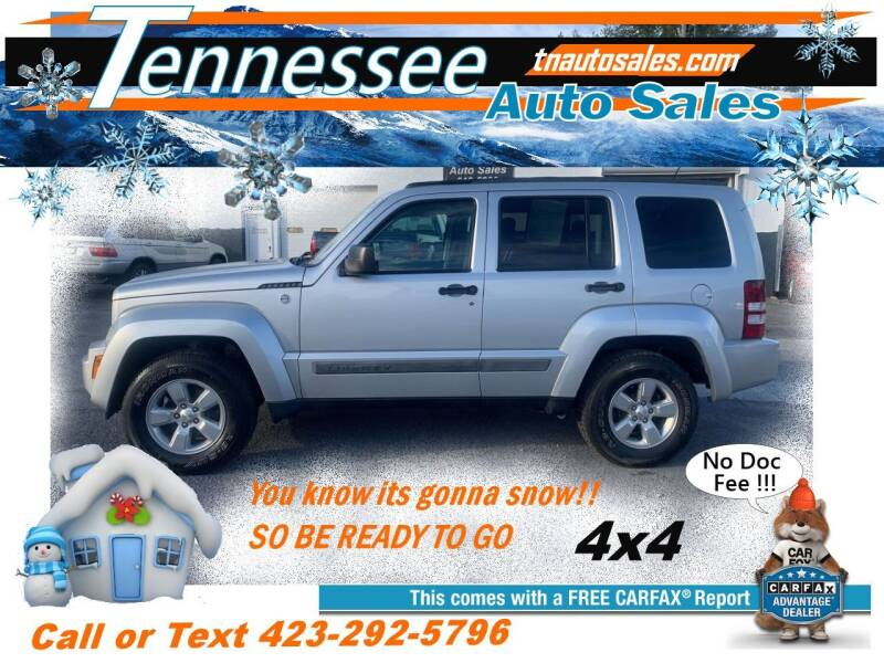 2012 Jeep Liberty for sale at Tennessee Auto Sales in Elizabethton TN