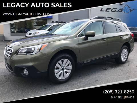 2017 Subaru Outback for sale at LEGACY AUTO SALES in Boise ID