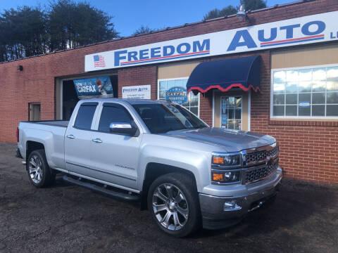 2014 Chevrolet Silverado 1500 for sale at FREEDOM AUTO LLC in Wilkesboro NC