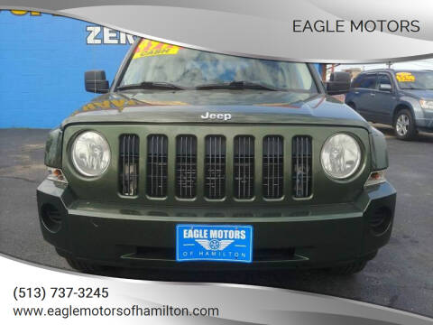 2008 Jeep Patriot for sale at Eagle Motors in Hamilton OH