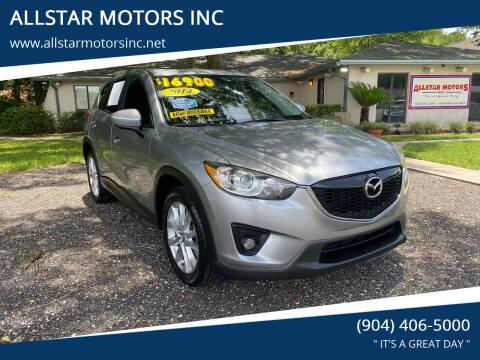 2014 Mazda CX-5 for sale at ALLSTAR MOTORS INC in Middleburg FL