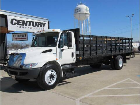 2008 International DuraStar 4300 for sale at CENTURY TRUCKS & VANS in Grand Prairie TX