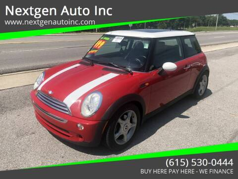 2006 MINI Cooper for sale at Nextgen Auto Inc in Smithville TN