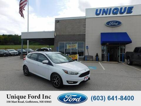 2017 Ford Focus for sale at Unique Motors of Chicopee - Unique Ford in Goffstown NH
