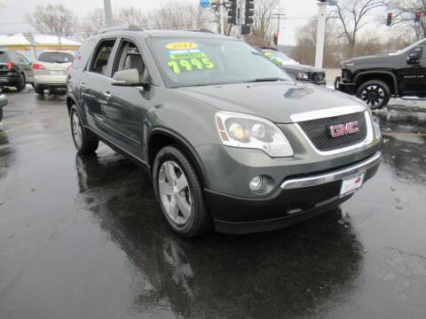 2011 GMC Acadia for sale at Auto Land Inc in Crest Hill IL