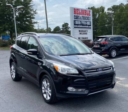 2014 Ford Escape for sale at Reliable Cars & Trucks LLC in Raleigh NC