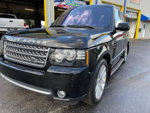 2012 Land Rover Range Rover for sale at RoMicco Cars and Trucks in Tampa FL