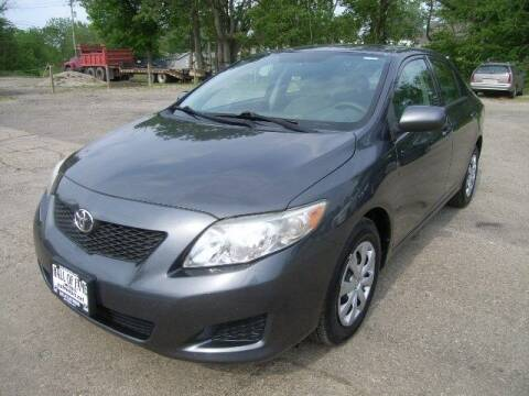 2010 Toyota Corolla for sale at HALL OF FAME MOTORS in Rittman OH
