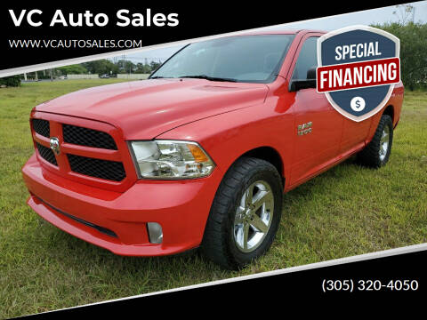 2015 RAM Ram Pickup 1500 for sale at VC Auto Sales in Miami FL