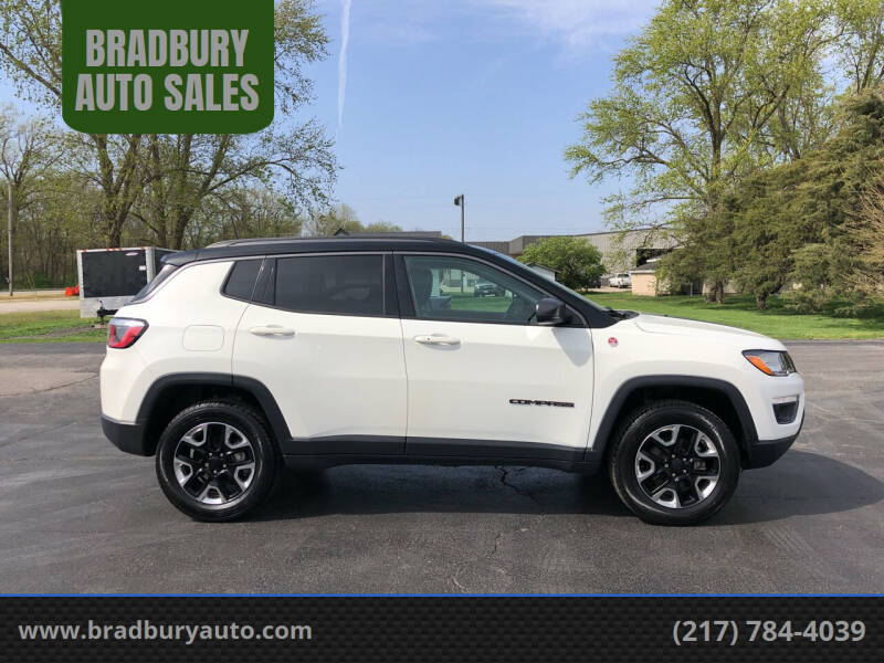 2018 Jeep Compass for sale at BRADBURY AUTO SALES in Gibson City IL