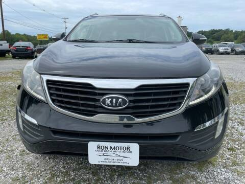 2012 Kia Sportage for sale at Ron Motor Inc. in Wantage NJ
