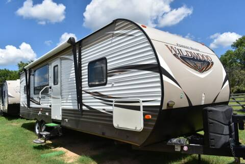 2017 Forest River Wildwood 27RKSS for sale at Buy Here Pay Here RV in Burleson TX