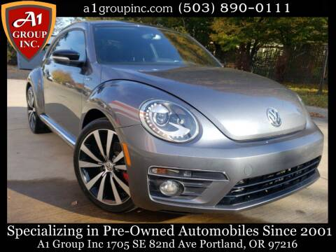 2014 Volkswagen Beetle for sale at A1 Group Inc in Portland OR