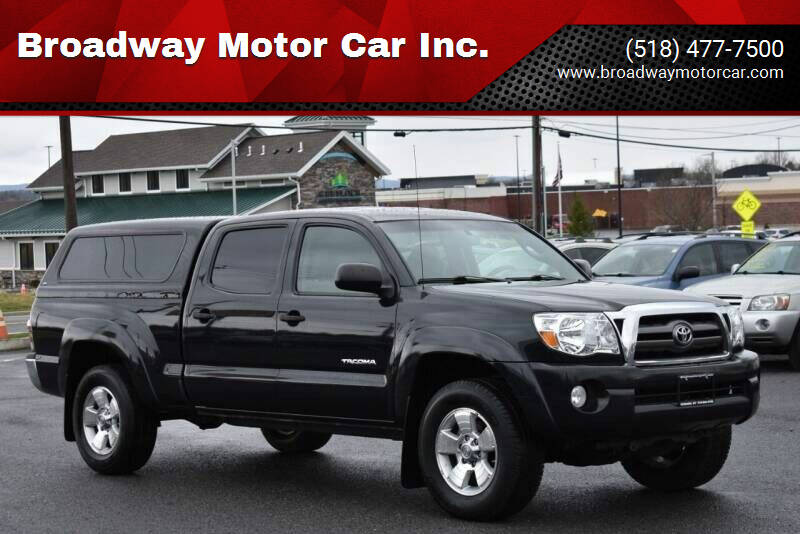 2010 Toyota Tacoma for sale at Broadway Motor Car Inc. in Rensselaer NY