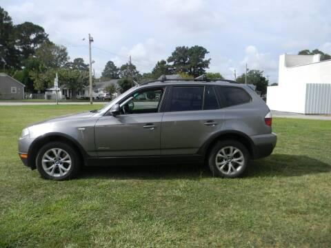 2010 BMW X3 for sale at SeaCrest Sales, LLC in Elizabeth City NC