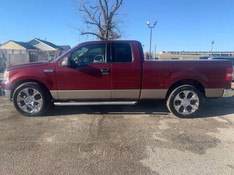 2004 Ford F-150 for sale at FAIR DEAL AUTO SALES INC in Houston TX