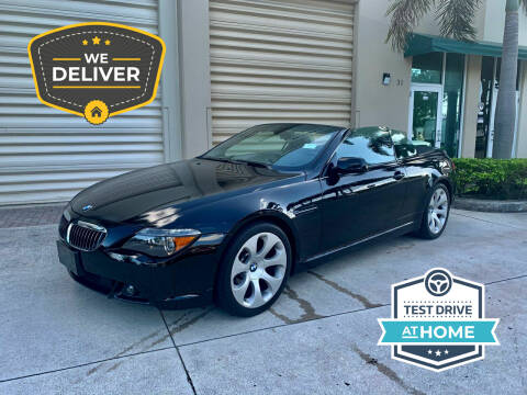 2007 BMW 6 Series for sale at AUTOSPORT MOTORS in Lake Park FL