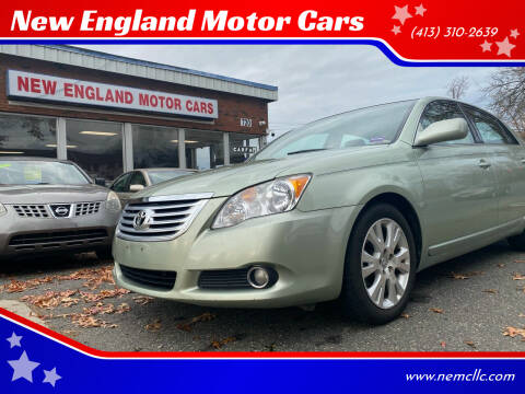 2010 Toyota Avalon for sale at New England Motor Cars in Springfield MA