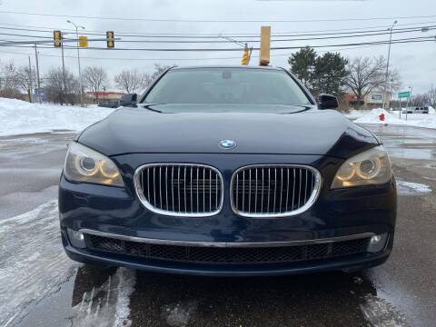 2011 BMW 7 Series for sale at Suburban Auto Sales LLC in Madison Heights MI
