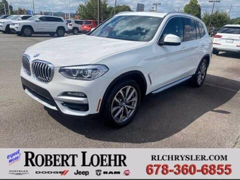2019 BMW X3 for sale at Robert Loehr Chrysler Dodge Jeep Ram in Cartersville GA